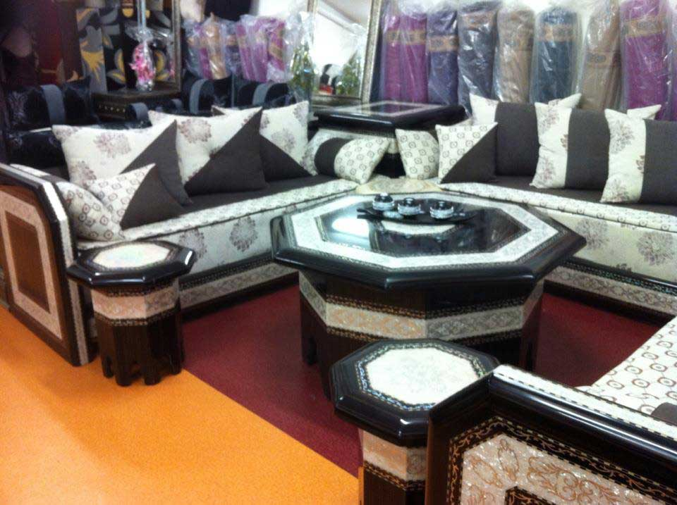 Salon Oriental Marocain Moderne sur Mesure